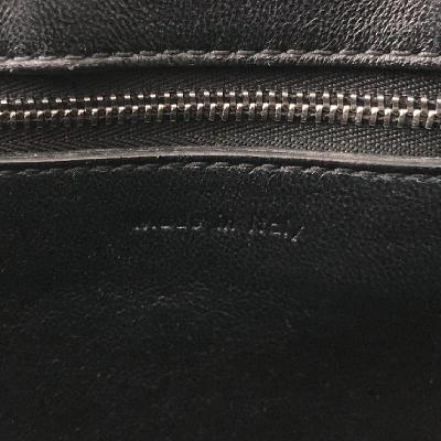 zipper point tote bag blue